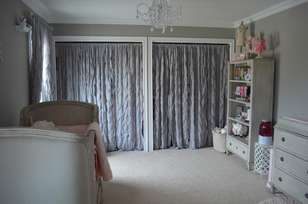 Pintuck Closet Panels