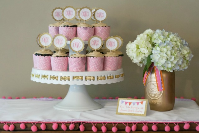 Tiered Cupcake Display - Project Nursery