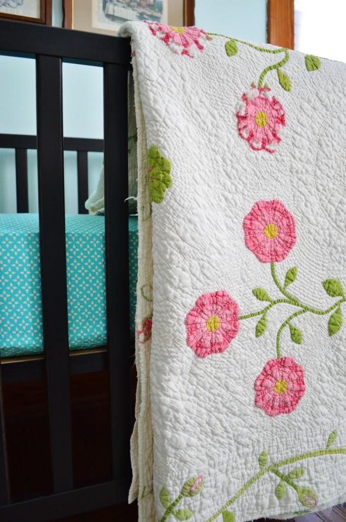 Vintage Flower Quilt