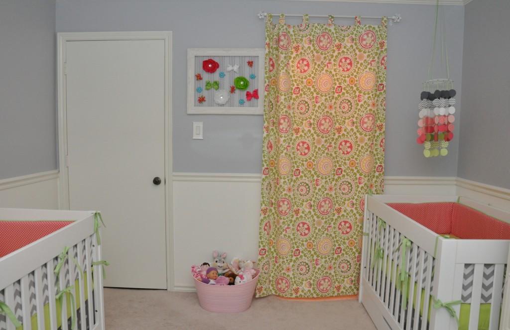 Triplet Girls Nursery Project Nursery