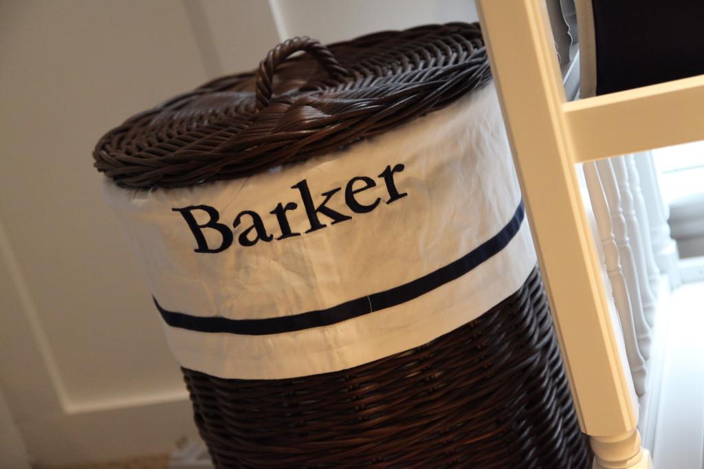 Personalized Wicker Hamper