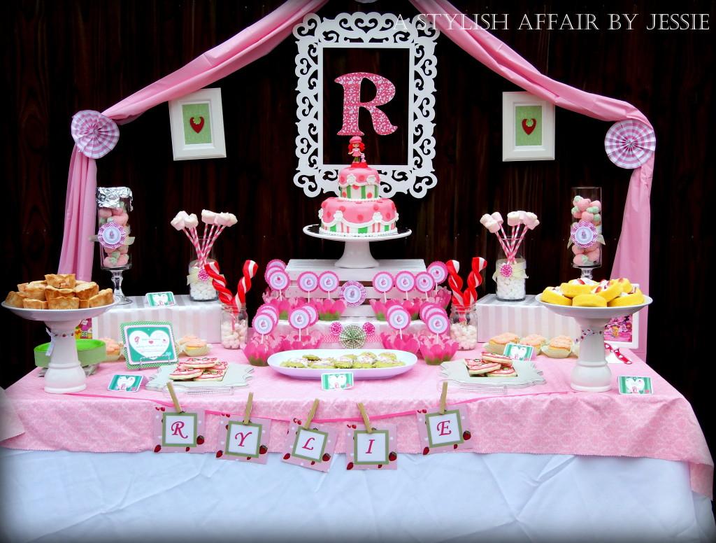 Strawberry Shortcake-Inspired Birthday Party - Project Nursery