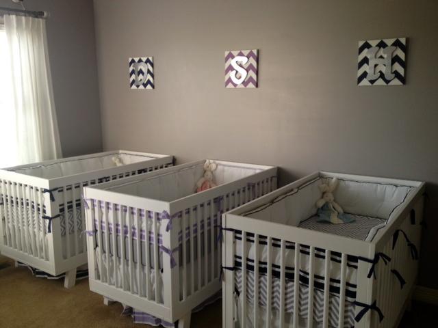 Triplet Cribs