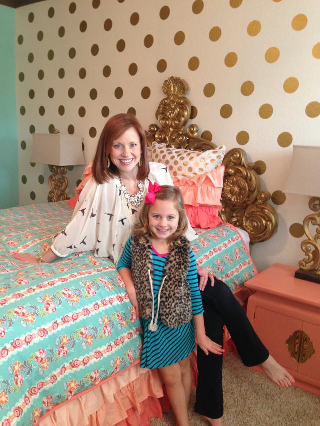 Katy Mimari's Glam Big Girl Room - Project Nursery