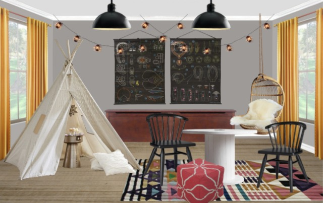 Havenly Playroom Design