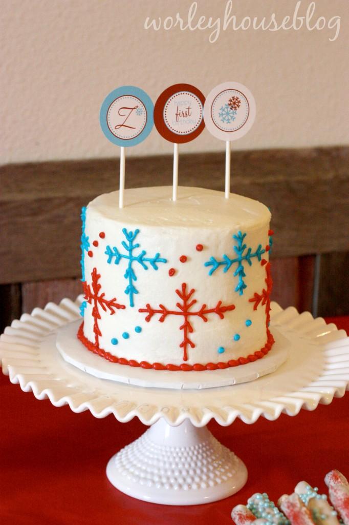 Zanes Winter Onederland First Birthday Project Nursery