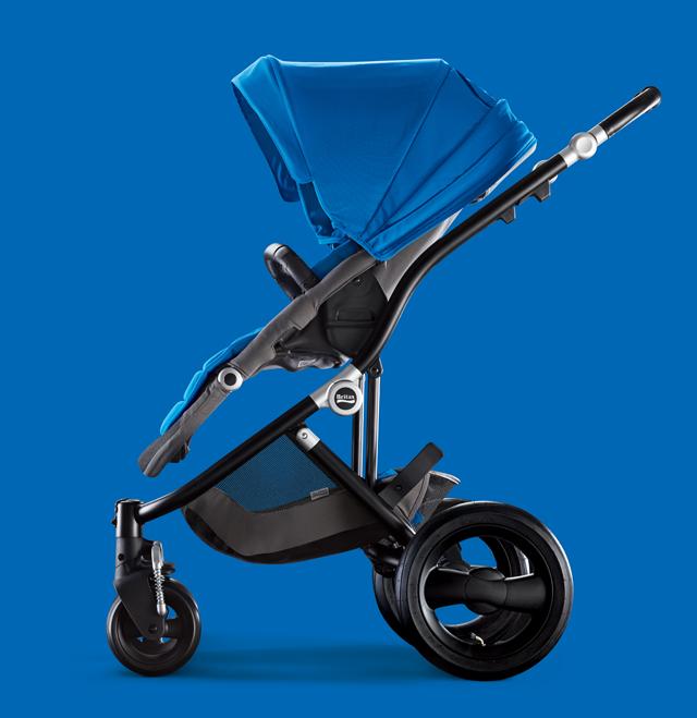 Britax Sky Blue Affinity Stroller