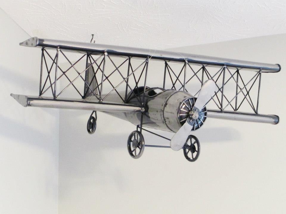 Hanging Airplane Model