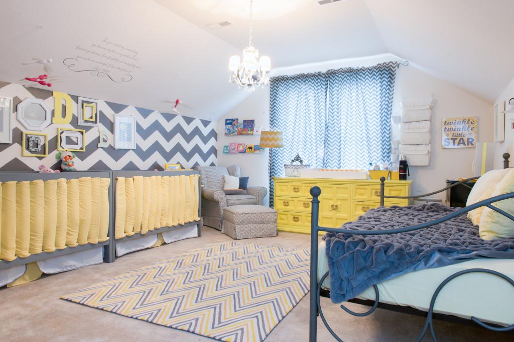 Gray and Yellow Chevron Nursery - Project Nursery