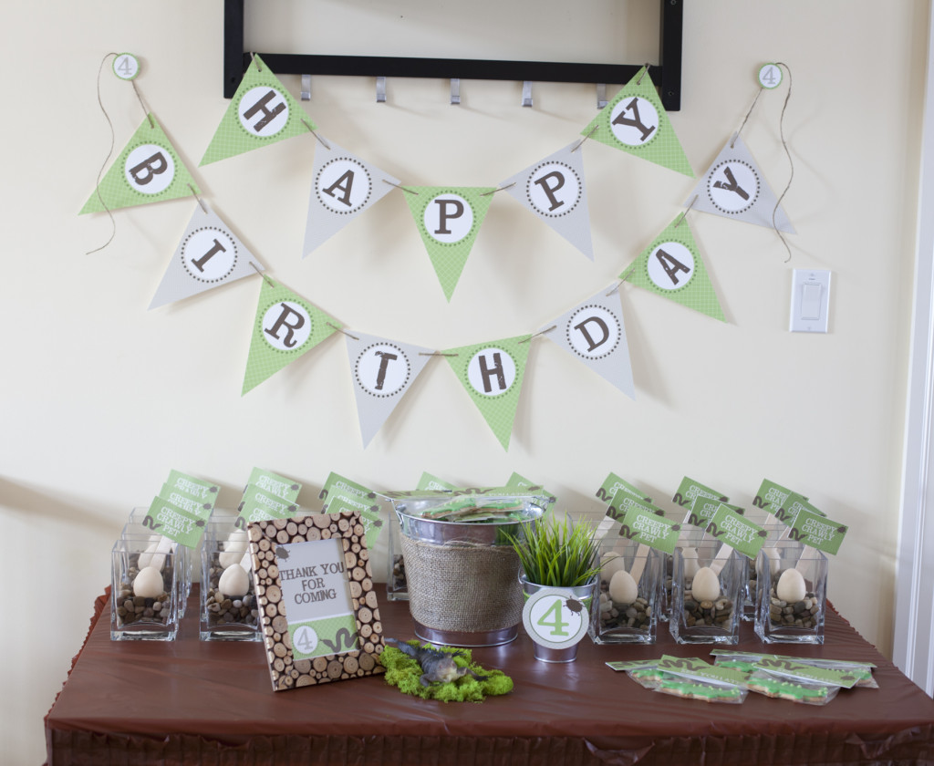 Creepy Crawly Birthday Party - Project Nursery