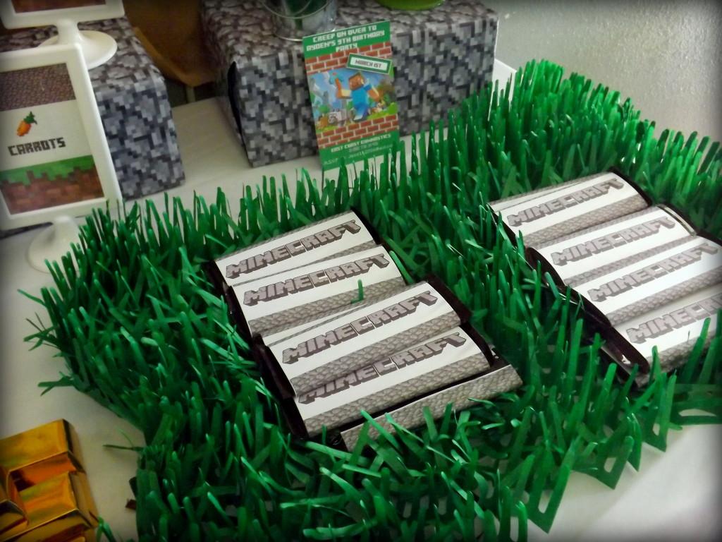 Minecraft Chocolate Bars
