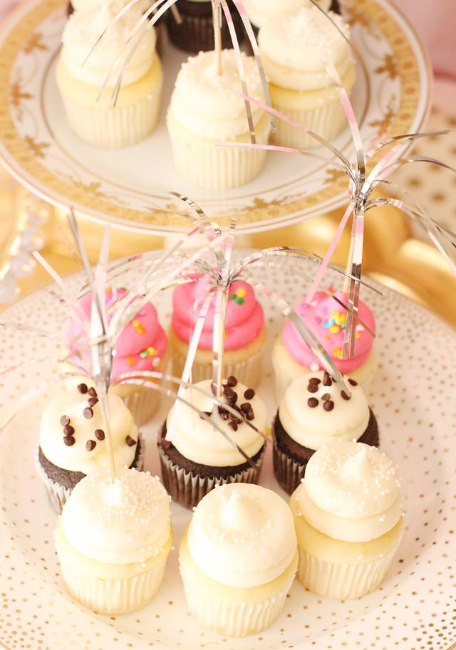 Birthday Party Cupcake Display - Project Nursery