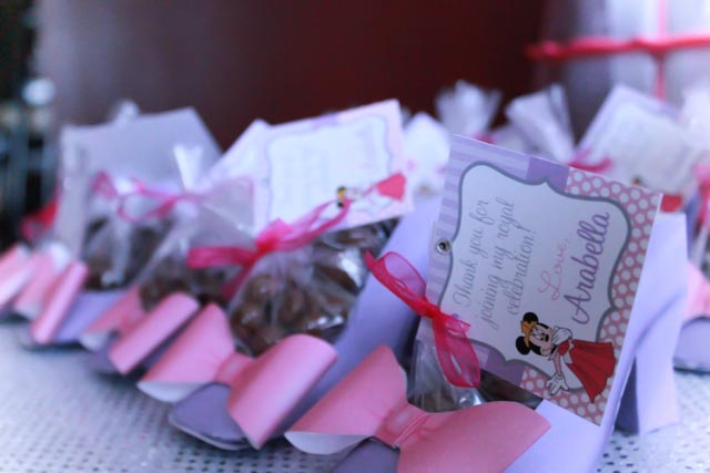 Princess Minnie Heel Favors