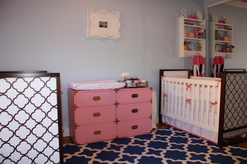Pink Campaign Dresser