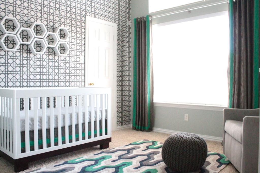 Modern Sports Nursery Project Nursery - Gender neutral colors