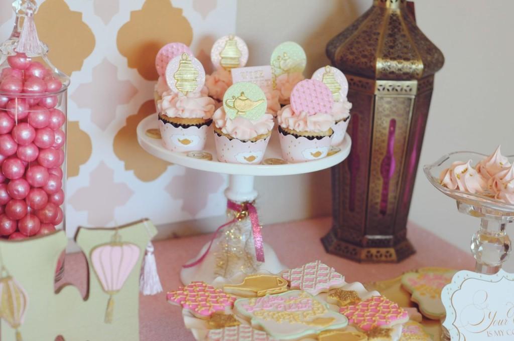 Genie: Make a WISH Birthday Party Cupcakes