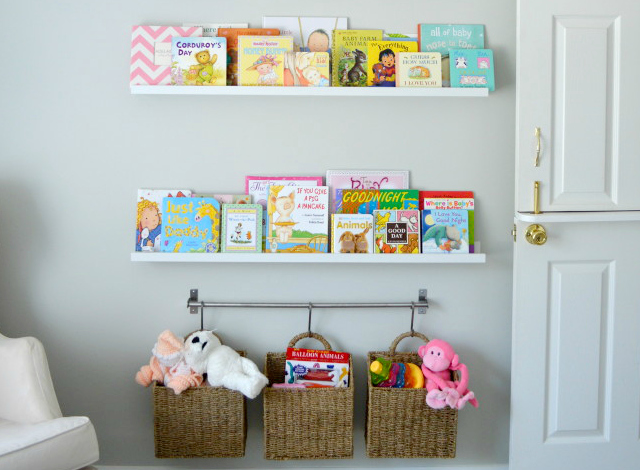 Clever Nursery Organization Ideas