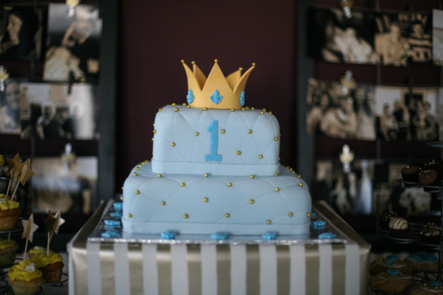 Royal First Birthday Party - Project Nursery