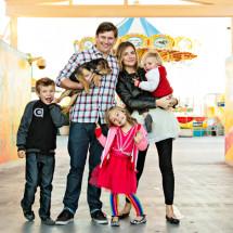 Jessica Shyba and Family