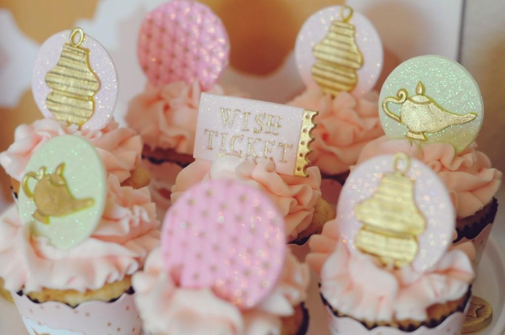 Genie: Make a WISH Cupcake Fondant Toppers