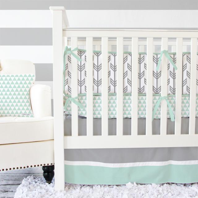 Arrow Crib Bedding from Caden Lane