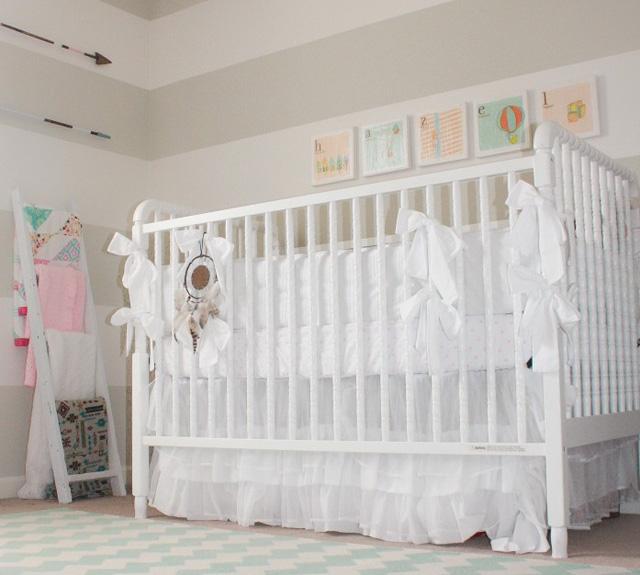 Vintage Arrows Wall Decor - Project Nursery