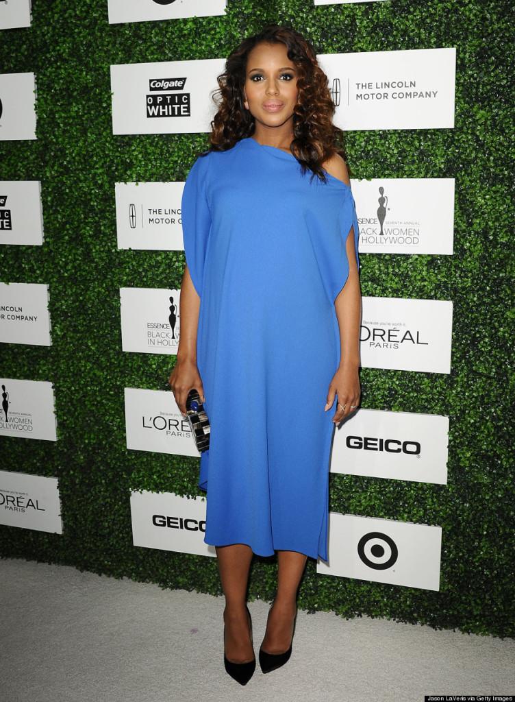 Pregnant Kerry Washington's Maternity Style