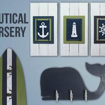 The Project Cottage Nautical Nursery Decor