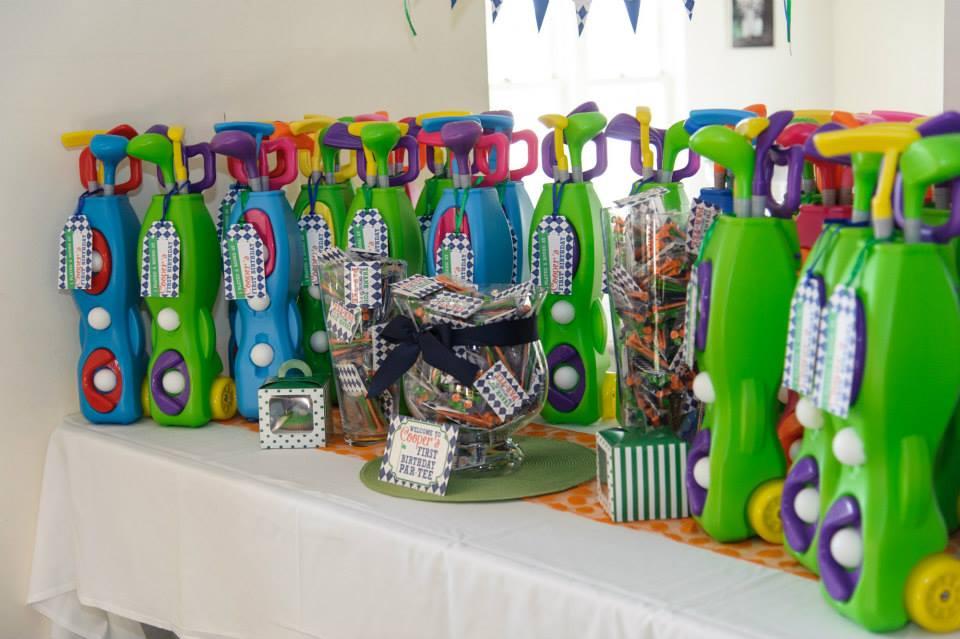 Cooper 39 s 1st birthday golf par tee project nursery for Baby golf room decor