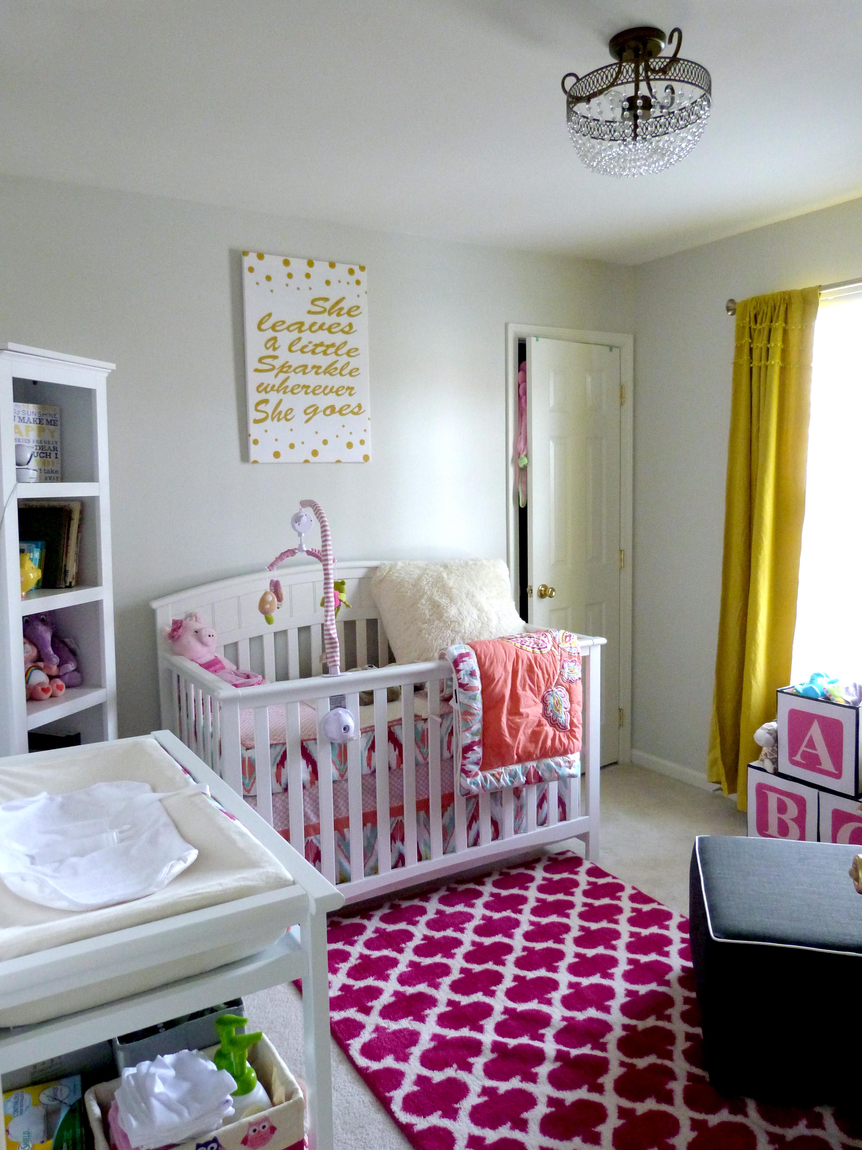 Children S Party Box Wall Art For Girl S Bedroom: Antonia's Eclectic Nursery