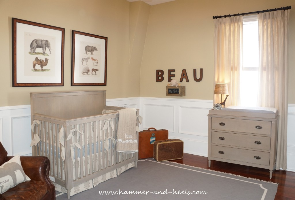 Safari Inspired Nursery