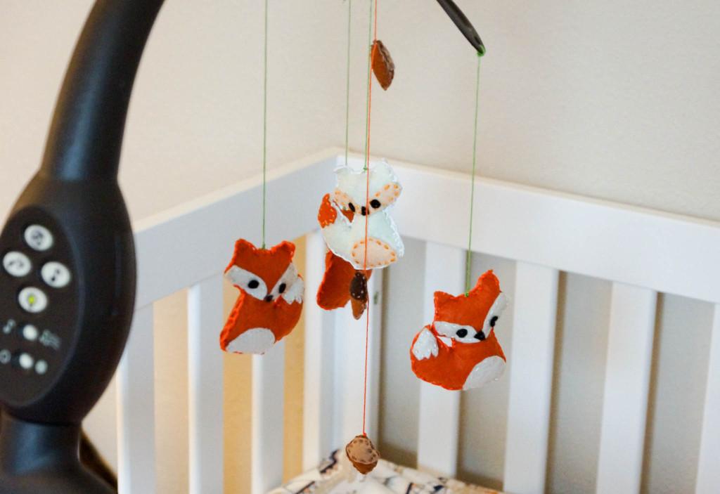 A Fox Themed Nursery For Britain Fox Project Nursery