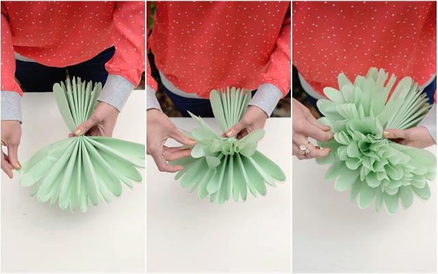 & DIY: Tissue Paper Flowers - Project Nursery