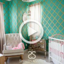 Hollywood Glam Nursery Room Tour - Project Nursery