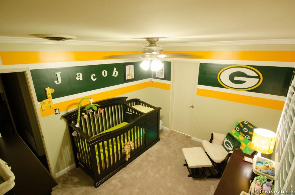 Jacob 39 S Green Bay Packers Nursery Project Nursery