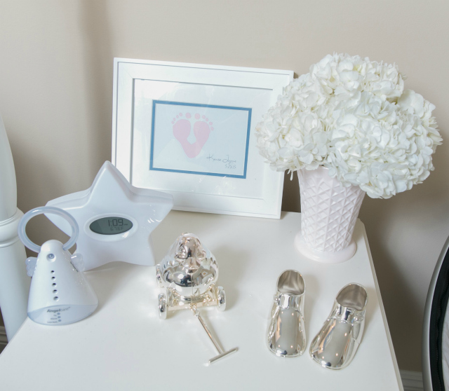 Neutral and White Nursery Accents