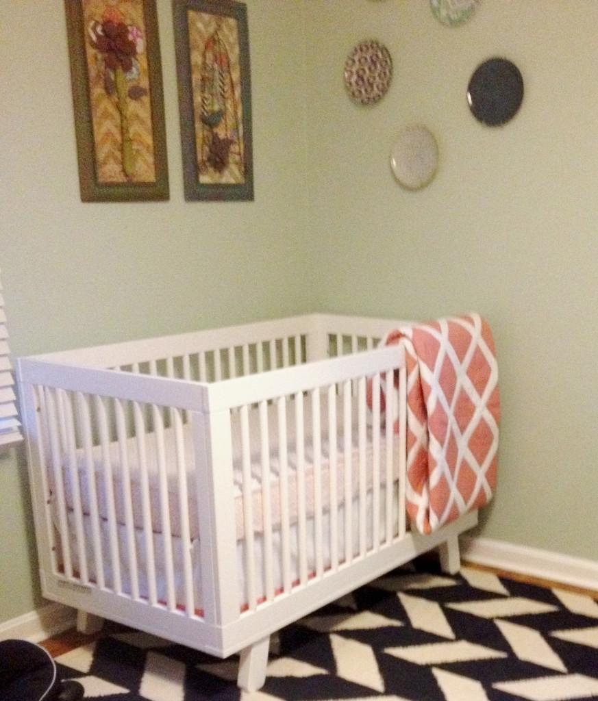 Elin S Vintage Modern Nursery Project Nursery