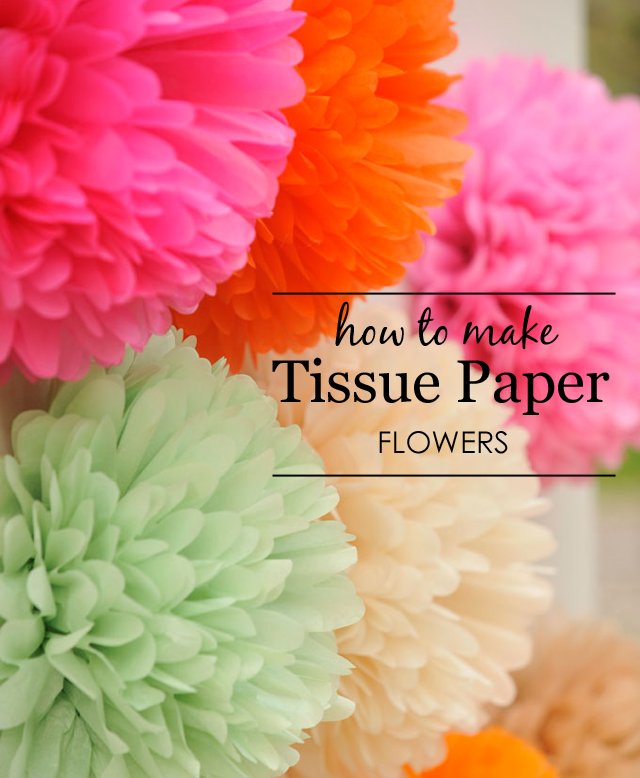 Diy tissue paper flowers project nursery how to make tissue paper flowers project nursery mightylinksfo