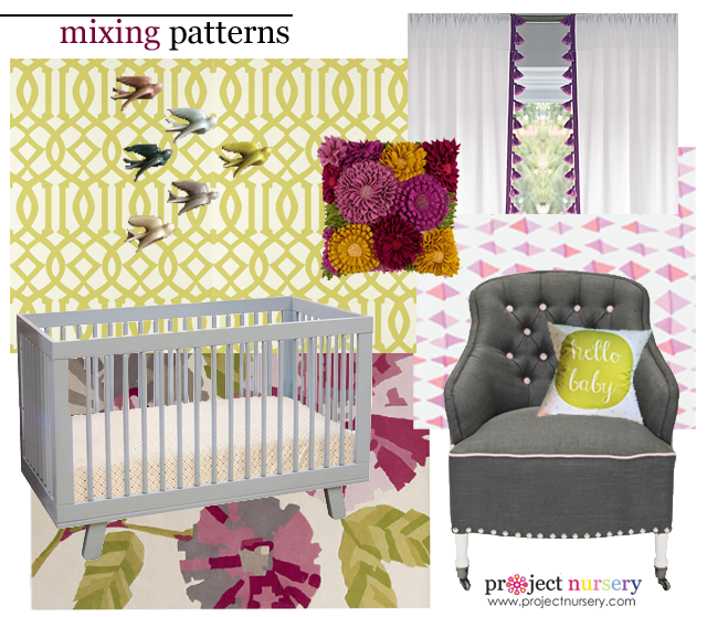 How to Mix Patterns Design Board