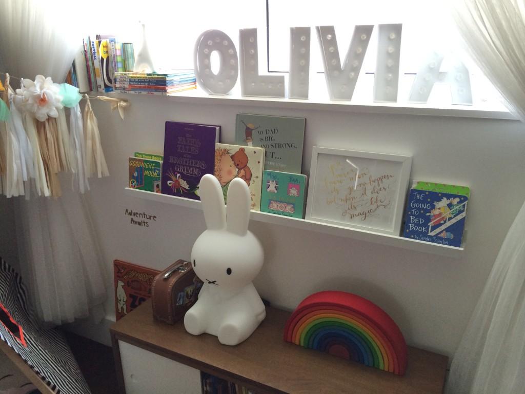 DIY Olivia Sign