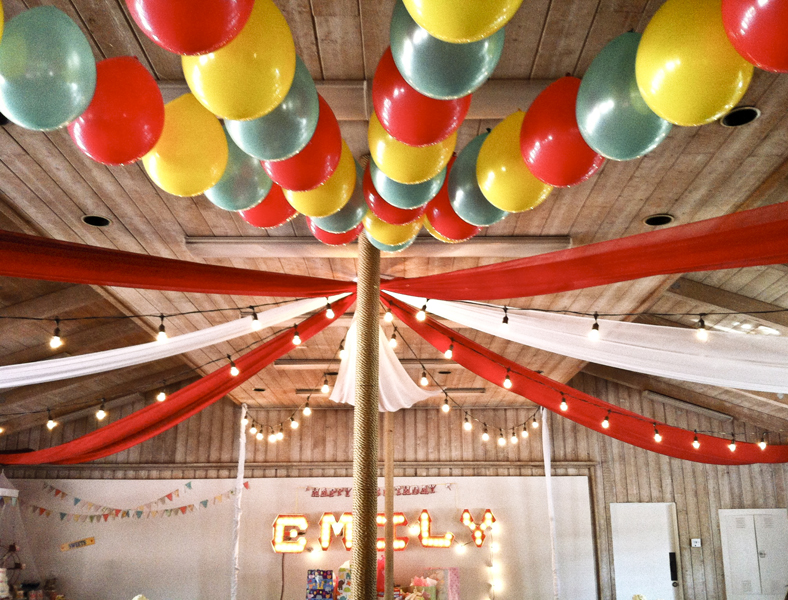 Circus-Themed Party Decor - Project Nursery