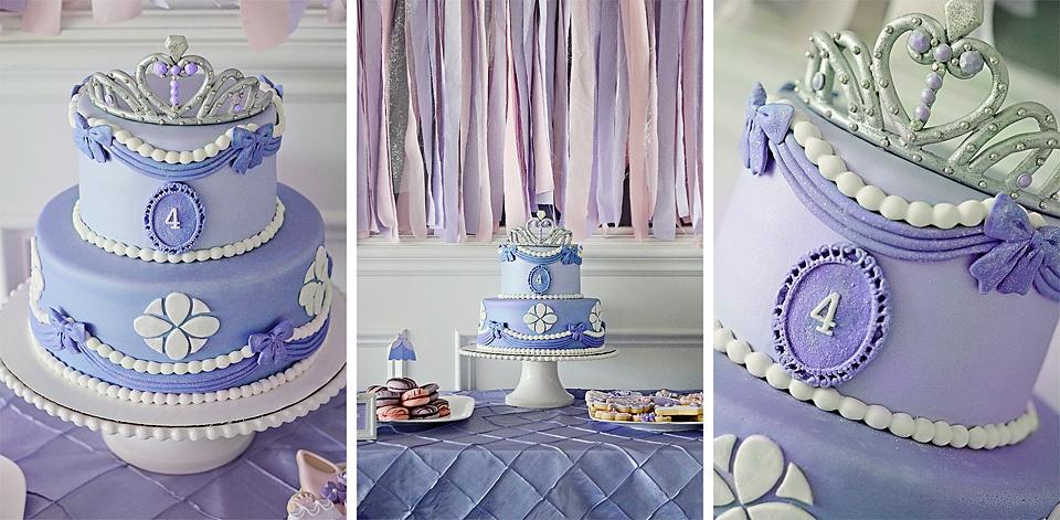 Pictures Of Sofia Birthday Cakes