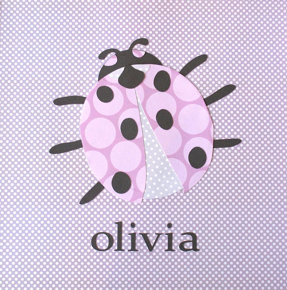 Olivia Lady Bug Print