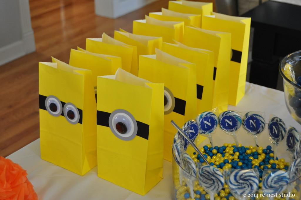 Noahs Minion Rush 5th Birthday Party Project Nursery