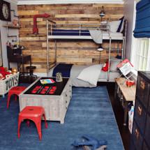 Industrial Chic Boy's Bedroom