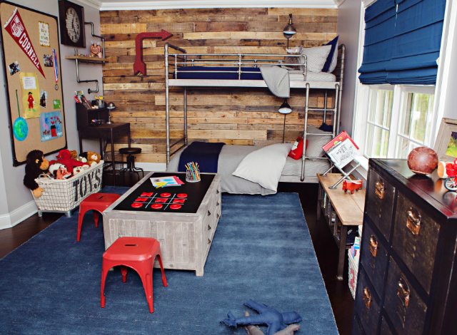 51 Ways To Diy The Bedroom Of Your Kids Dreams: RH Baby & Child Industrial-Vintage Boy's Room Makeover