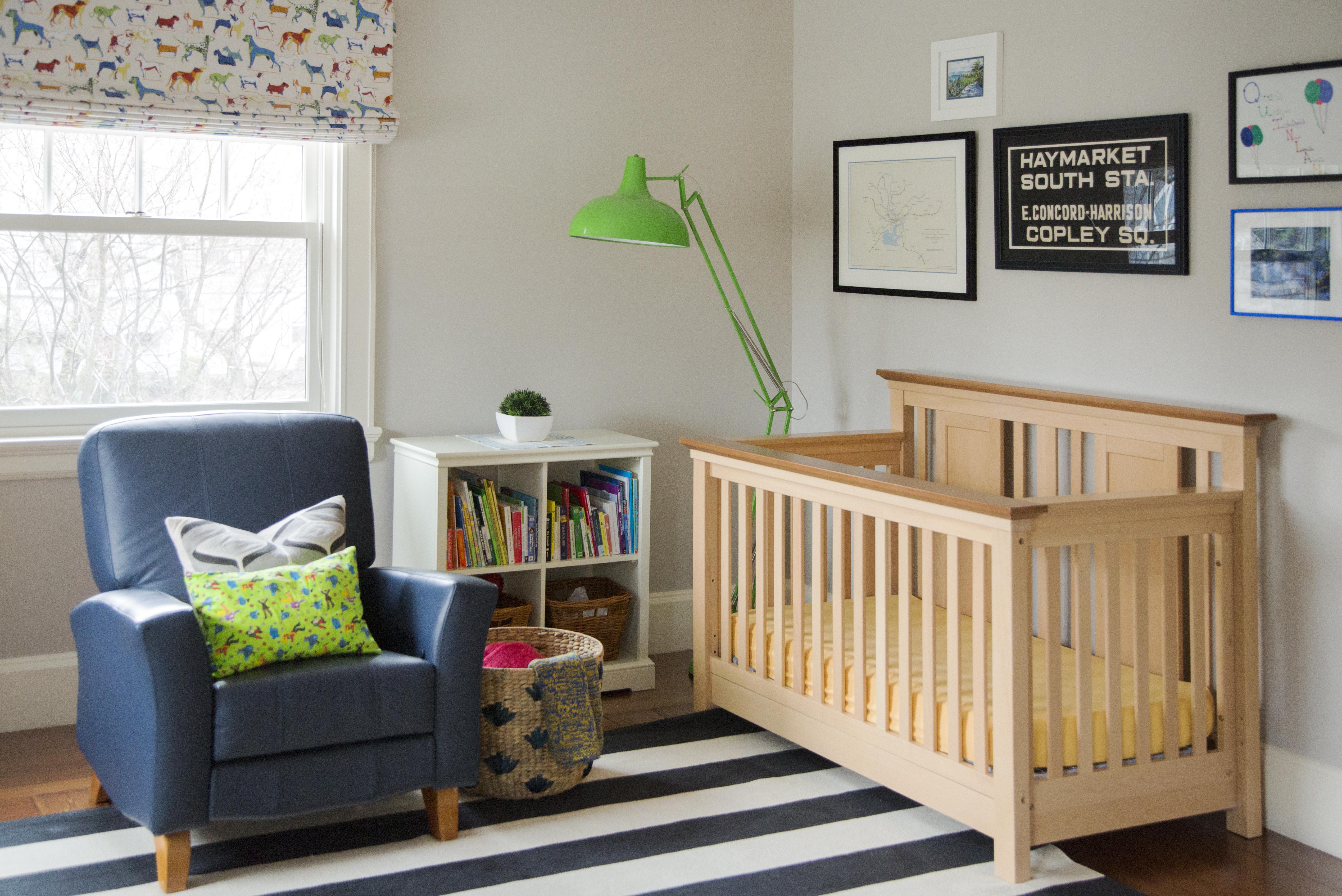 Rainbow Nursery Room