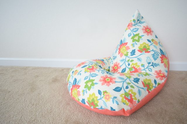 Pleasant Diy Sew A Kids Bean Bag Chair In 30 Minutes Project Nursery Gmtry Best Dining Table And Chair Ideas Images Gmtryco