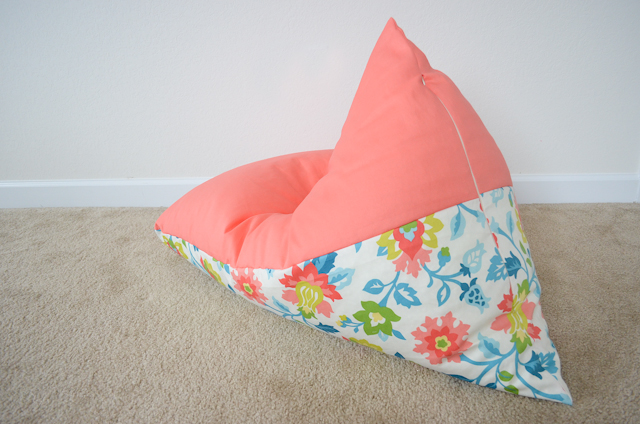 DIY Kids Bean Bag Chair