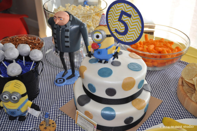Readers Favorite MinionThemed Birthday Party Project Nursery